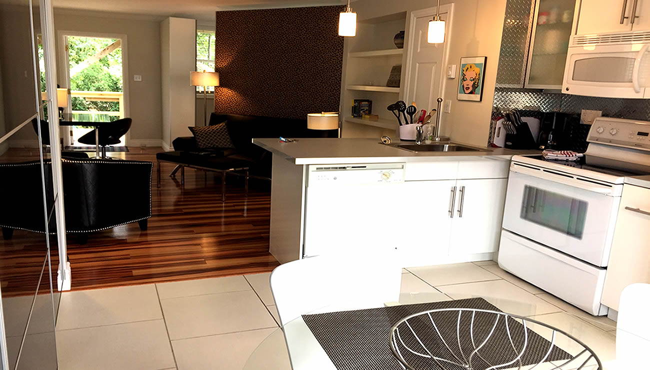 One bedroom executive apartments to rent downtown st john for Floors and kitchens st john